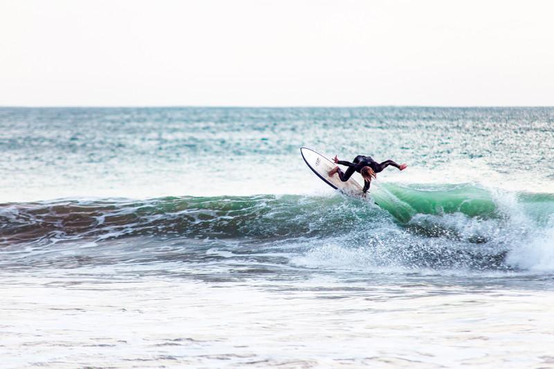 surfing lofoten