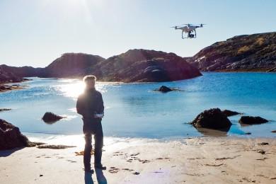 drone foto lofoten