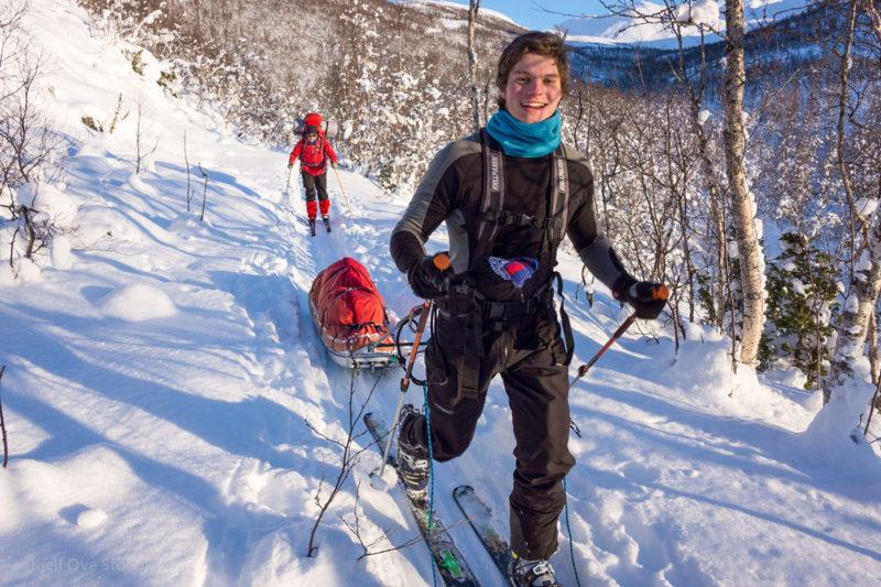Vintertur på Hinneøya, Foto: Kjell Ove Storvik